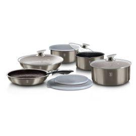Berlinger Haus Metallic Carbon 12-Piece Cookware Set