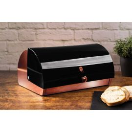 Berlinger Haus Black Rose Bread Box