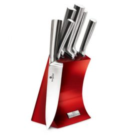 Berlinger Haus Burgundy 6-Piece Knife Set