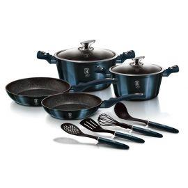 Berlinger Haus Metallic Aquamarine 10-Piece Cookware Set