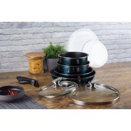 Berlinger Haus Metallic Aquamarine 9-Piece Cookware Set
