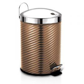 Berlinger Haus Metallic Rose Gold Pedal Waste Bin - 5L