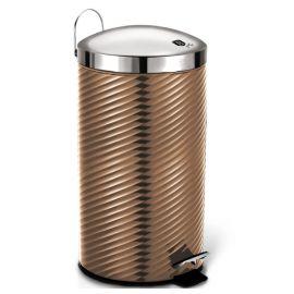 Berlinger Haus Metallic Rose Gold Pedal Waste Bin - 7L