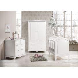 سرير بيبي من Trama Glamour - أبيض