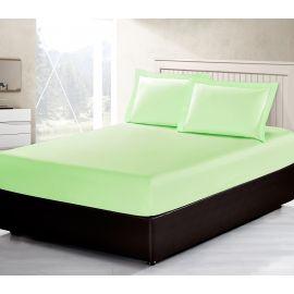 ARMN Vero 3-Piece Queen-size Fitted Sheet Set - Light Green