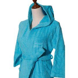 ARMN Supreme 8-10 Year-Old Bathrobe - Turquoise