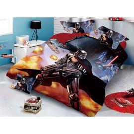 ARMN Solano Kids Darth Vader Reversible 6-Piece Single Comforter Set