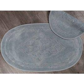 ARMN Maco Gala Gray Bath Rug - 60 x 100 cm