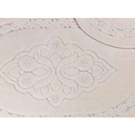 ARMN Maco Gala Cream Bath Rug - 60 x 100 cm