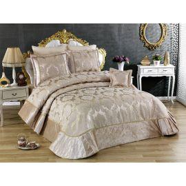 Golden Home Menekse 4-Piece Kingsize Comforter Set - Brown