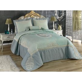 Golden Home Candy 4-Piece Kingsize Comforter Set - Turquoise