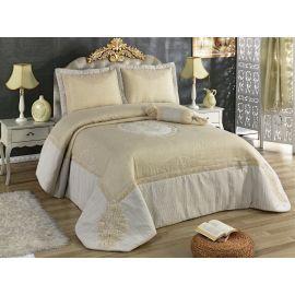 Golden Home Candy 4-Piece Kingsize Comforter Set - Beige