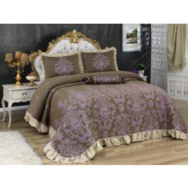 Golden Home Ottoman 4-Piece Kingsize Comforter Set - Lilac