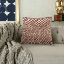 ARMN Prestige Embossed Cushion Cover - Mink