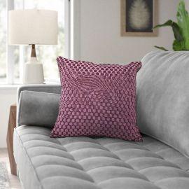 ARMN Prestige Embossed Cushion Cover - Purple