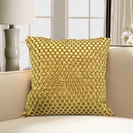 ARMN Prestige Embossed Cushion Cover - Gold