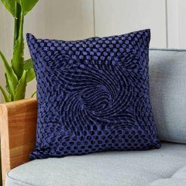 ARMN Prestige Embossed Cushion Cover - Dark Blue