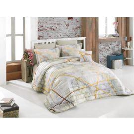 ARMN Casa Marble Gold 7-Piece Kingsize Comforter Set