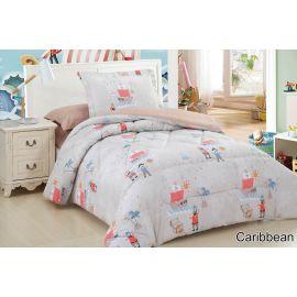 ARMN 4-Piece Kids Caribbean Single Comforter Set