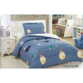 ARMN 4-Piece Kids Moonwalk Single Comforter Set