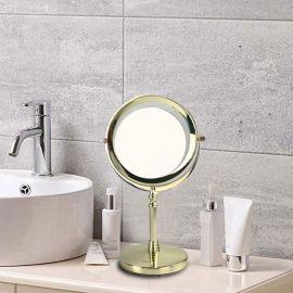 ARMN Conzy Countertop Vanity LED Mirror - Gold