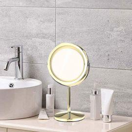 ARMN Conzy Countertop Vanity Mirror - Gold
