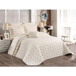 ARMN Chanely Meltem 2-Piece Single Bedspread Set - Cream
