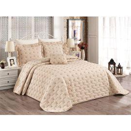 ARMN Chanely Meltem 3-Piece Double Bedspread Set - Beige