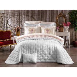 ARMN Chanely Chester 2-Piece Single Bedspread Set - Cream