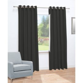 ARMN Rideau Single Black Curtain - 140 x 280 cm