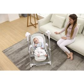 Pupa Electric Swing with Highchair  - Gray