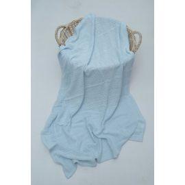 Royal Bedding 90x118 cm Cotton Blanket - Blue
