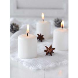 ARMN White Candle - 6.5 x 5 cm