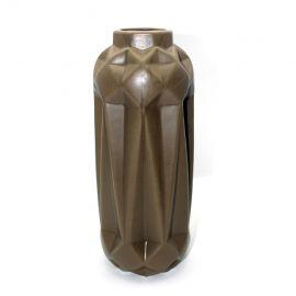 ARMN Medium Ceramic Vase - Olive Green
