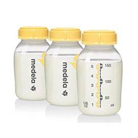Medela Set of 3 Breast Milk Bottles - 150 ml
