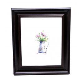Flowerpot Framed Wall Art - 28 x 33 cm