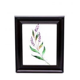 Plant Framed Wall Art - 28 x 33 cm