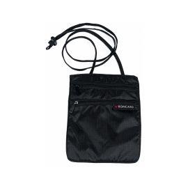 Roncato Security Travel Flat Shoulder Bag - Black