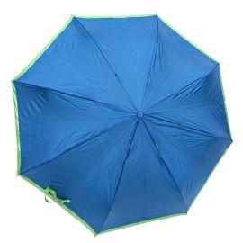 Roncato Bicolor Foldable Umbrella - Blue & Green