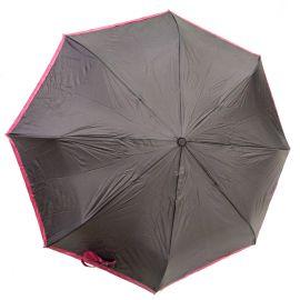 Roncato Bicolor Foldable Umbrella - Gray & Pink