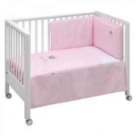 Cambrass Crown 2-Piece Bedspread Set - Pink