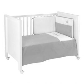 Cambrass Pic 2-Piece Bedspread Set - Gray