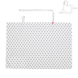 Cambrass Be Dots Discreet Feeding Cover - White & Black