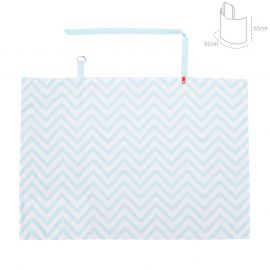 Cambrass Be Zigzag Discreet Feeding Cover - Blue