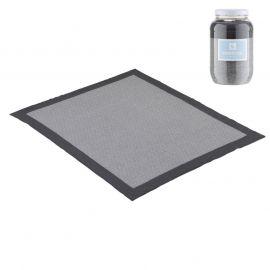 Cambrass Deku 80 x 100 Cotton Blanket - Gray