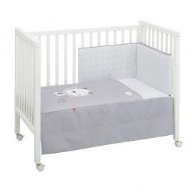 Cambrass Lion 2-Piece Bedspread Set - Gray