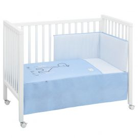 Cambrass Giraffe 2-Piece Bedspread Set - Blue