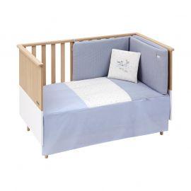 Cambrass Sky 2-Piece Bedspread Set - Blue
