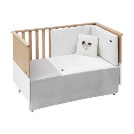 Cambrass Sky 2-Piece Bedspread Set - Gray