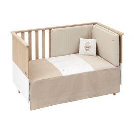 Cambrass Sky 2-Piece Bedspread Set - Beige